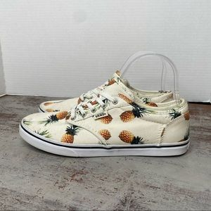 Vans Atwood Pineapple Lace Up Shoes 7.5